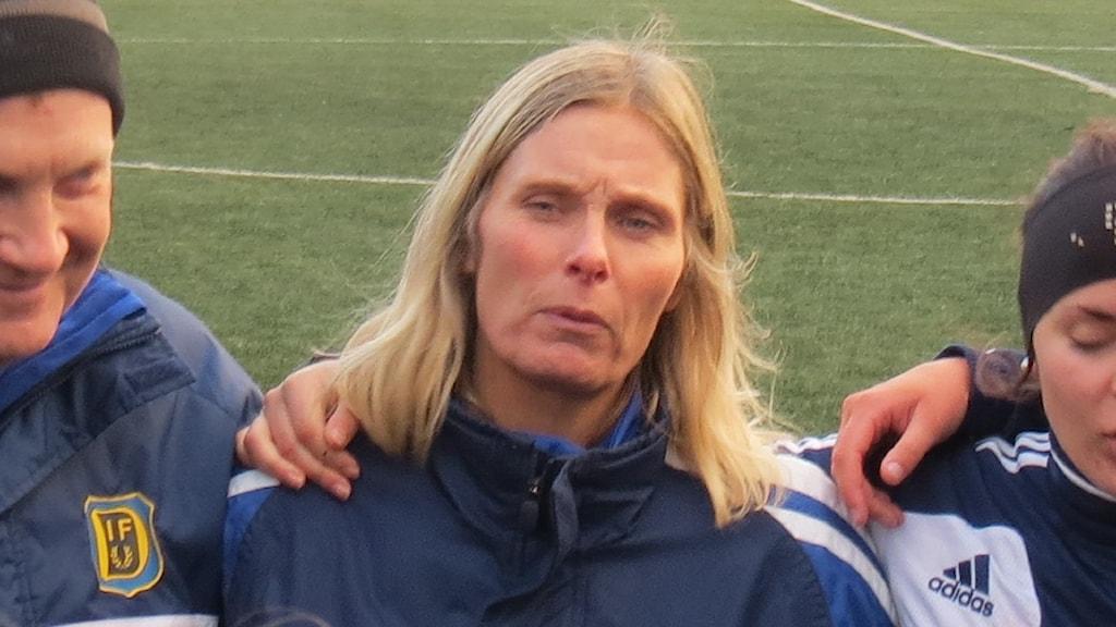 Annelie Blixt är kanslichef i Gotlands Fotbollförbund.