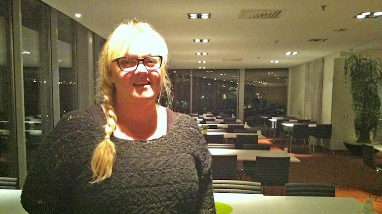 Annelie Williamson. Foto: Johannes Hallbom/Sveriges Radio