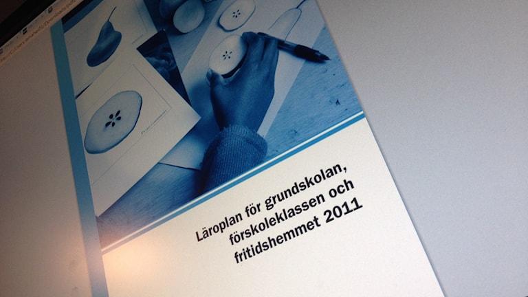 Grundskolans läroplan från 2011 tolkas utifrån lokala förutsättningar runt om i landet.