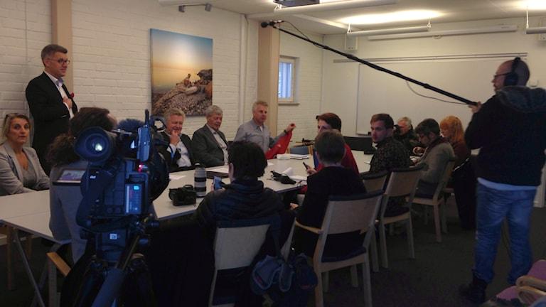 Gotlandsbåtens ledning. Foto: Katarina Hedström/Sveriges Radio