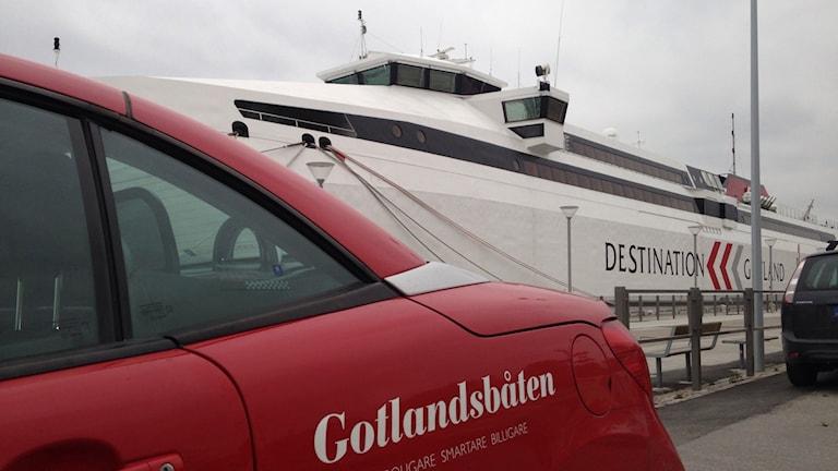 Gotlandsbåten. Foto: Katarina Hedström
