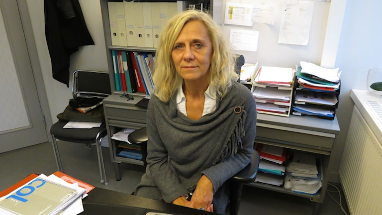 Christina Godarve, avd chef Individ- och familjeomsorgen Region Gotland. Foto: Anna Jutehammar