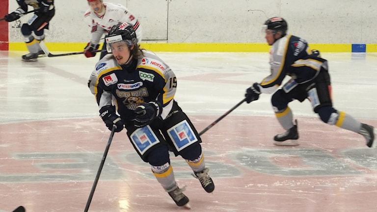 Visby Roma hemma mot Värmdö i ishockeyns division ett östra.