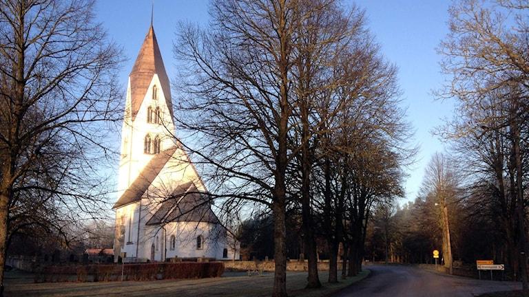 Stånga kyrka. Foto: Mika Koskelainen/Sveriges Radio