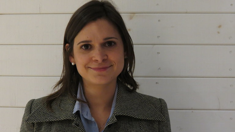 Helen Beltrame Linné, verksamhetsledare för Bergmancentret. Foto: Jonas Neuman/Sveriges Radio