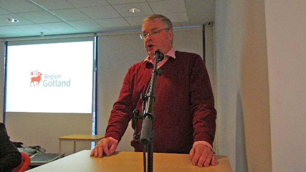 Kaj Lundmark. Foto: Gunnel Wallin/Sveriges Radio