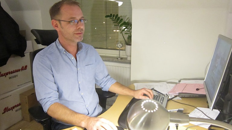 Joakim Blom. Foto: Jonas Neuman/Sveriges Radio