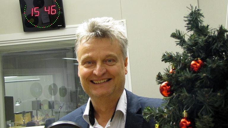 Mats Emriksson. Foto: Mika Koskelainen/Sveriges Radio