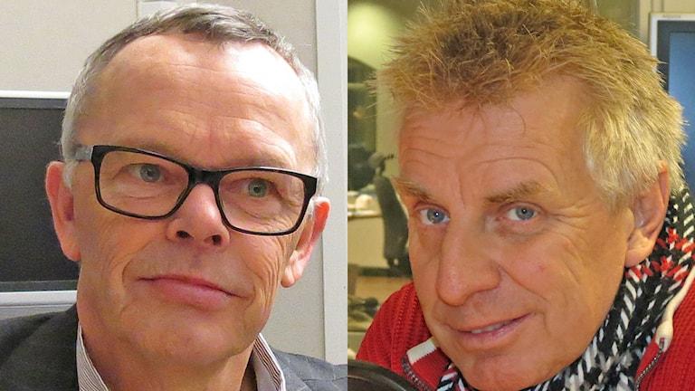 Åke Svensson och Pigge Svensson. Foto: Mika Koskelainen/Sveriges Radio