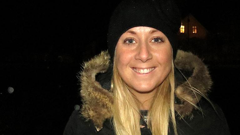 Josefine Eriksson. Foto: Mika Koskelainen/Sveriges Radio