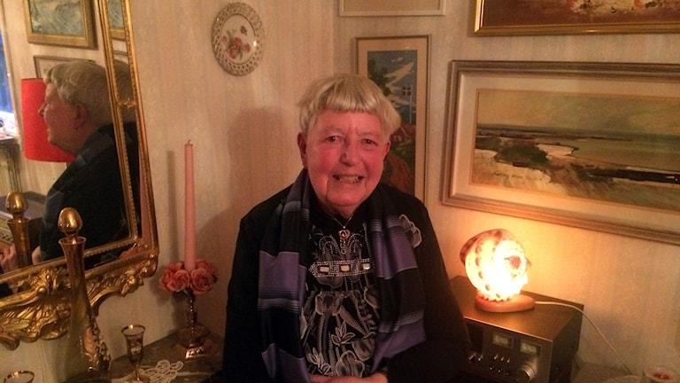 Gertrud Lyrung. Foto: Anna Granath/Sveriges Radio