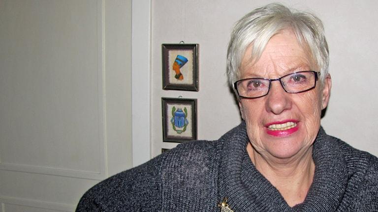 Birgitta Nylund. Foto: Mari Winarve/Sveriges Radio