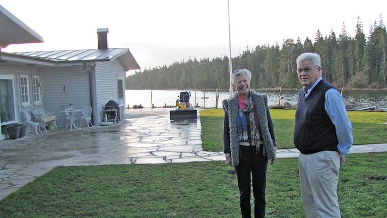 Cathrin och Rune Bergström. Foto: Tomas Ardin/Sveriges Radio