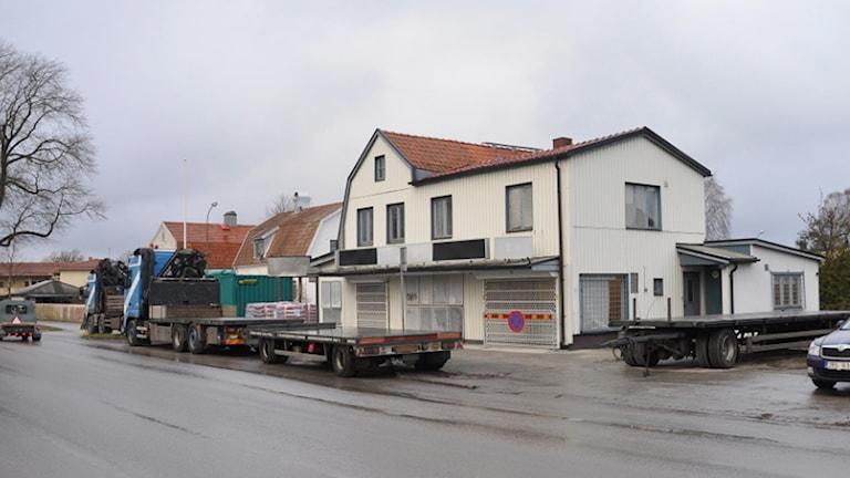 Sanering vid Renokiosken. Foto: Region Gotland