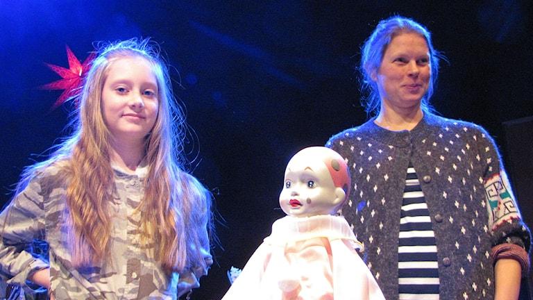 """Ellen Nordin 11 år o Camilla Eriksson i """"Du o jag mamma"""""""