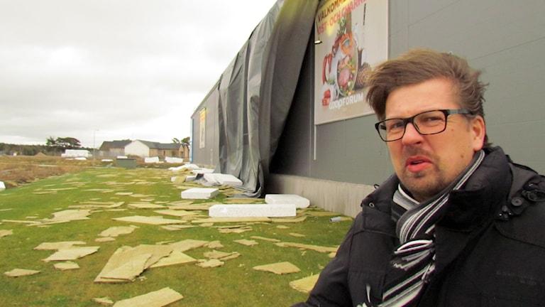Richard Hedsand. Foto: Tomas Ardin/Sveriges Radio