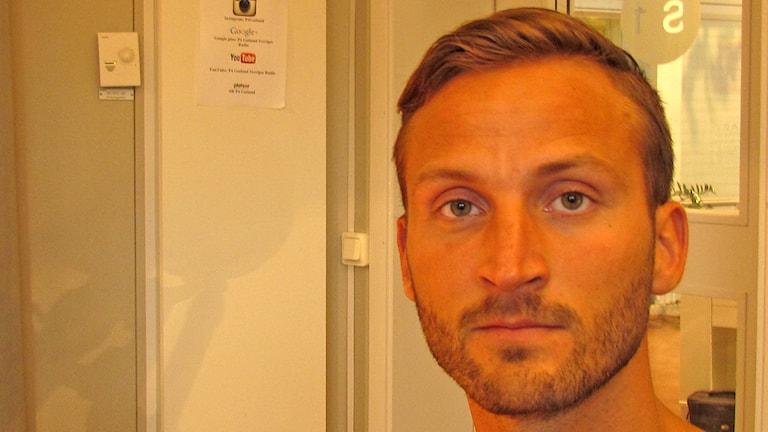 Rassmus Björnson - Raise. Foto: Mika Koskelainen/Sveriges Radio