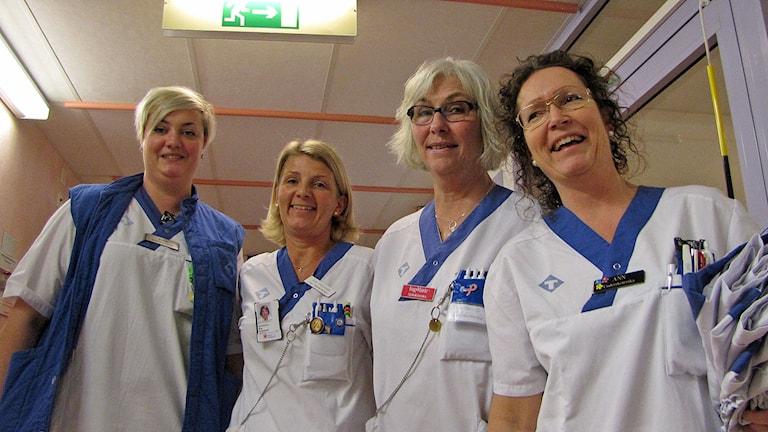 Glädje att Visby lasarett utsetts till tredje bästa i landet bland mellanstora sjukhus.