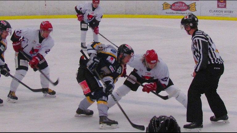 Visby Roma hemma mot Kalix i ishockeyns Alletta för herrar.