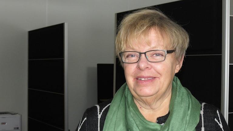 Almedalens koordinator Karin Lindvall