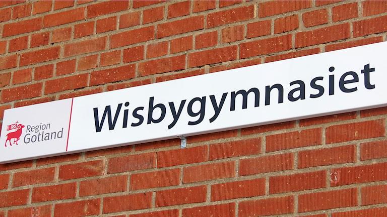 Wisbygymnasiet. Foto: Mika Koskelainen/Sveriges Radio
