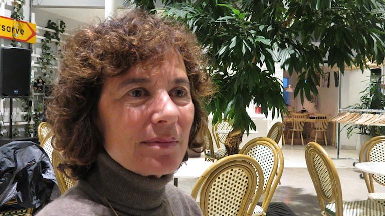 Suzanne Kaplan. Foto: Mika Koskelainen/Sveriges Radio