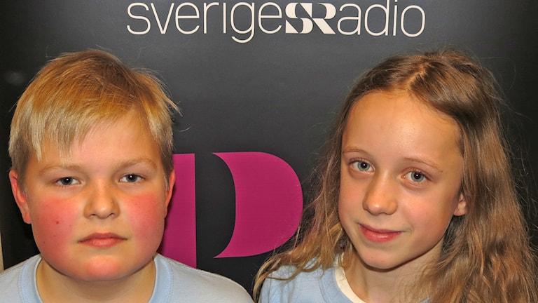 Bruno Snoder och Sofie Ihreskog Florin. Foto: Mika Koskelainen/Sveriges Radio