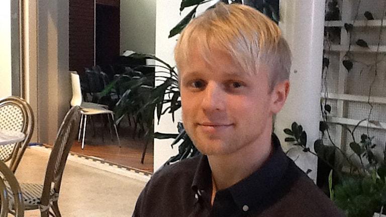Jimmy Ahlén. Foto: Jonas Neuman/Sveriges Radio