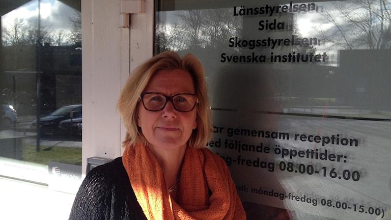 Kicki Scheller. Foto: Johan Hellström/Sveriges Radio