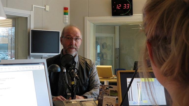 Åke Edvinsson. Foto: Jonas Neuman/Sveriges Radio