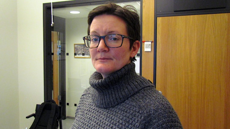 Isabel Enström. Foto: Johan Hellström/Sveriges Radio