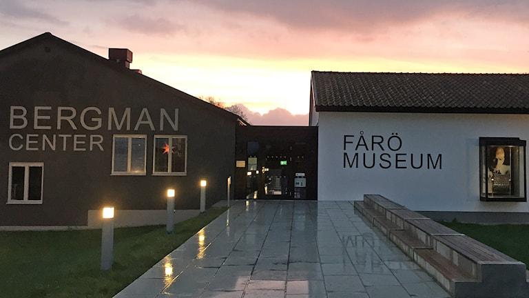 Bergmancentret på Fårö. Foto: Helen Beltrame-Linné/Bergmancentret
