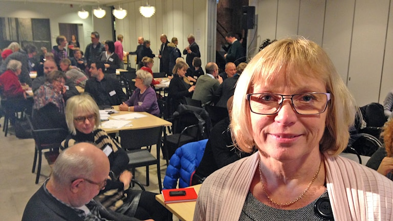 Eva Nypelius. Foto: Johan Hellström/Sveriges Radio