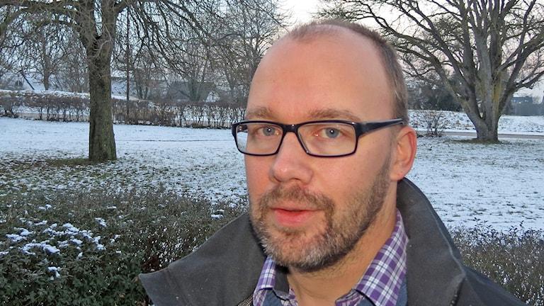 Johan Malmros. Foto: Mika Koskelainen/Sveriges Radio
