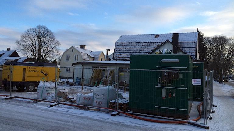 Sanering. Foto: Jonas Neuman/Sveriges Radio