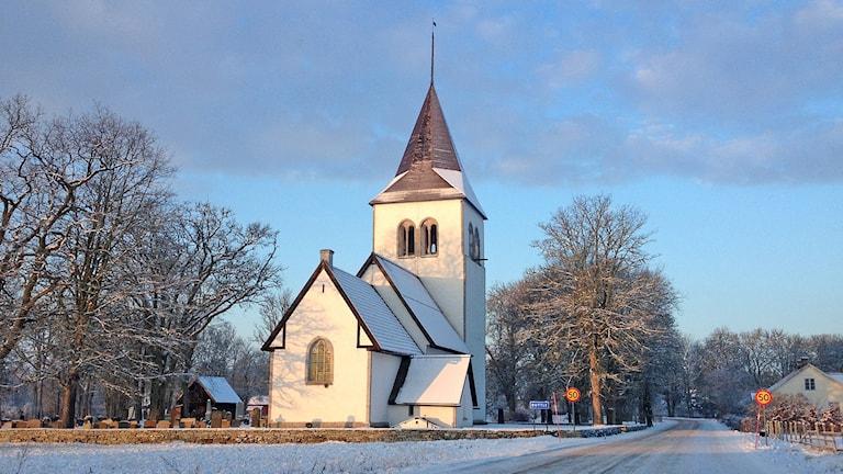 Buttle kyrka. Foto: Mika Koskelainen/Sveriges Radio
