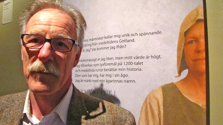Lars Sjösvärd. Foto: Ulrika Uusitalo Fernholm/Sveriges Radio