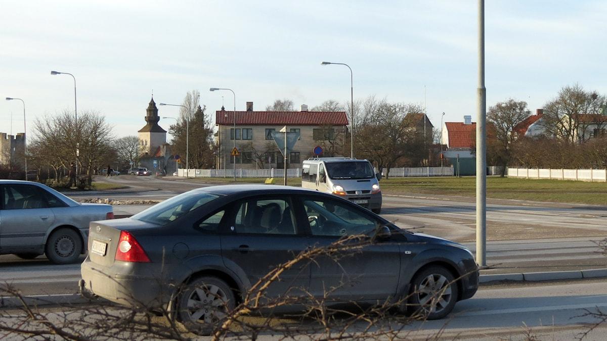 Trafik. Foto: Jonas Neuman/Sveriges Radio