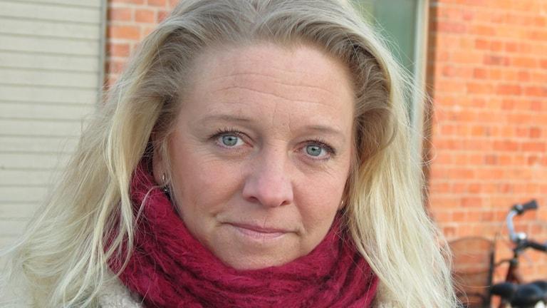 Socialdemokratiska politikern Meit Fohlin. Foto: Lasse Eskelind/Sveriges Radio
