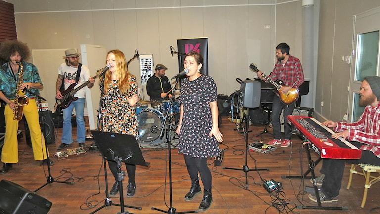 Ida Andersson Band. Foto: Mika Koskelainen/Sveriges Radio