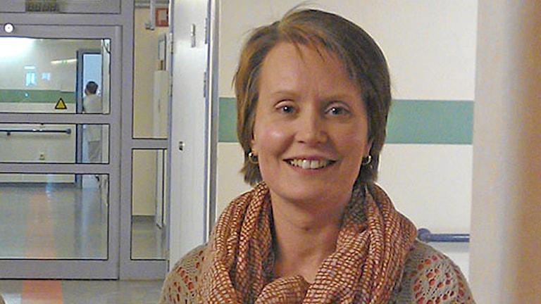 Veronica Hermann. Foto: Anna Jutehammar/Sveriges Radio