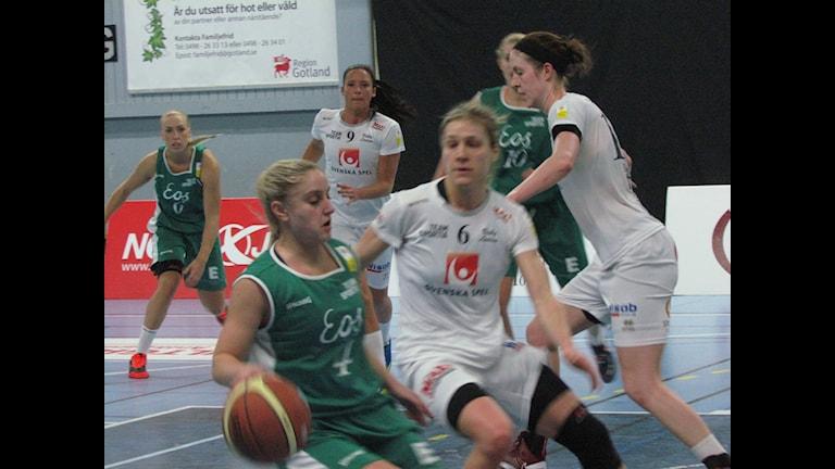 Basket Visby Ladies och IK Eos