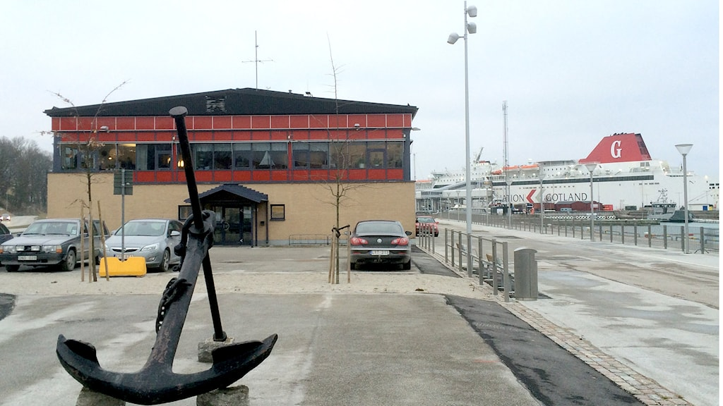 Gamla hamnterminalen i Visby hamn. Foto: Henrik Wallenius/Sveriges Radio