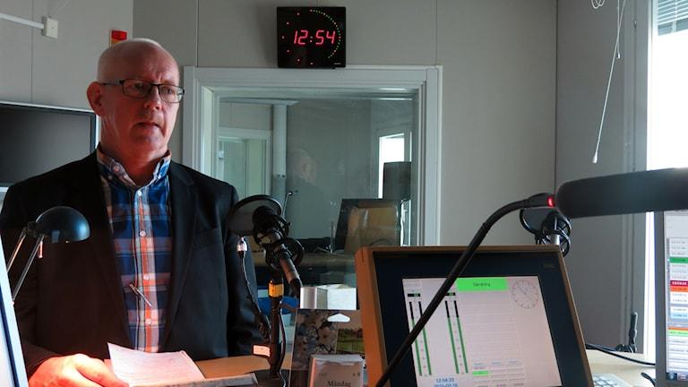 Christer Stoltz. Foto: Jonas Neuman/Sveriges Radio