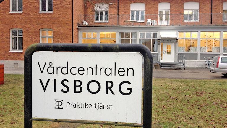 Vårdcentralen Visborg. Foto: Mika Koskelainen/Sveriges Radio