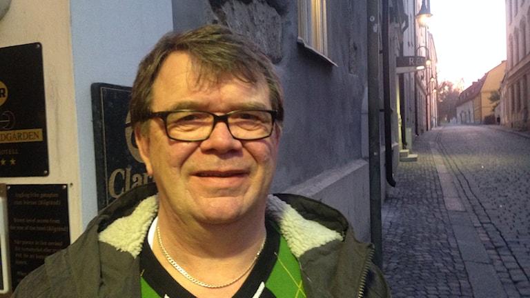 Björn Johansson från hyresgästföreningen region Sydost. Foto: John Almqvist/Sveriges Radio