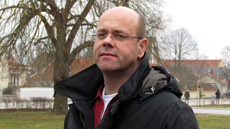 Ragnar Östermark. Foto: Jonas Neuman/Sveriges Radio
