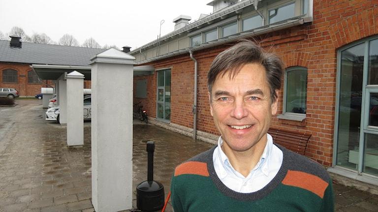 Hans Brandström. Foto: Mika Koskelainen/Sveriges Radio
