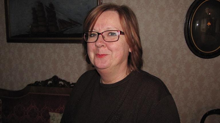 Eva Levander. Foto: Mari Winarve/Sveriges Radio
