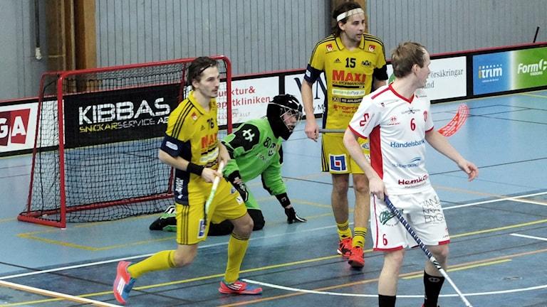 Visby IBKs Markus Jovic och Vilmer Viinamäki.